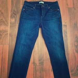 Never-worn Loft cuffed jeans